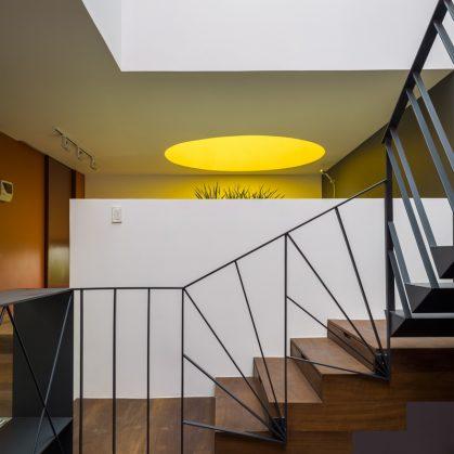 Luz y colores en Pattern House 21