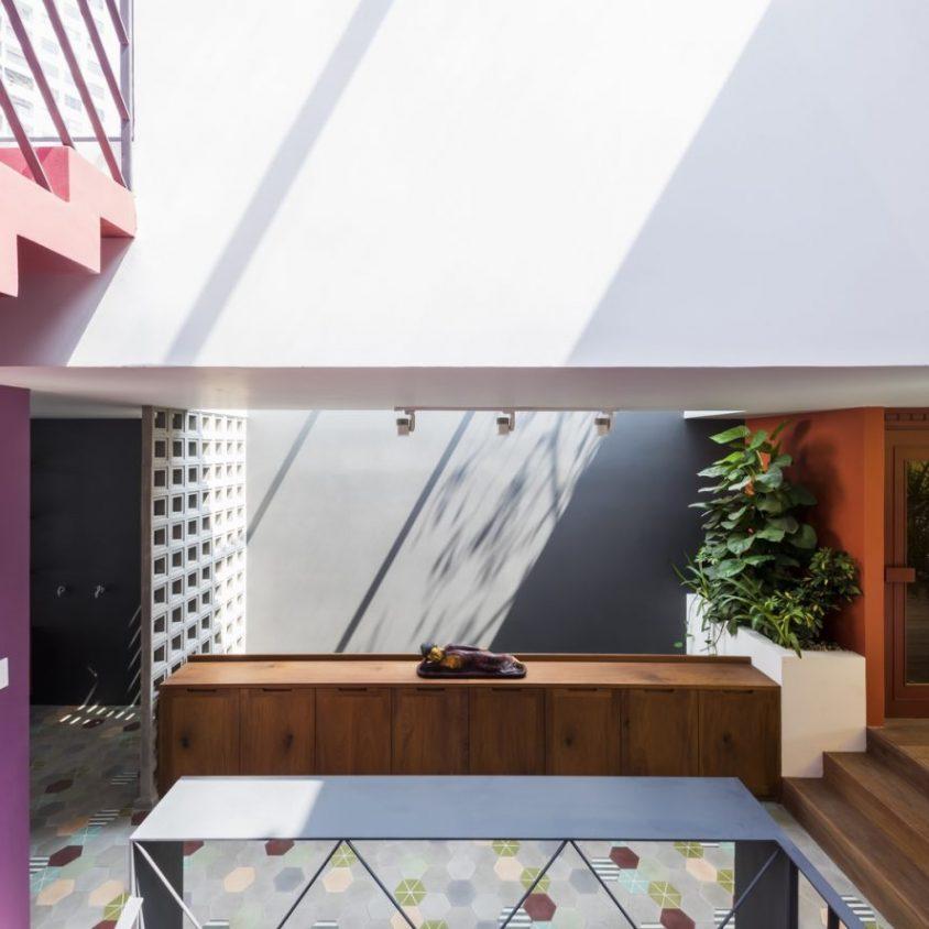 Luz y colores en Pattern House 8