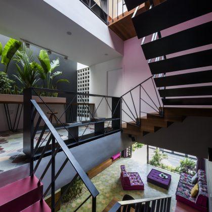 Luz y colores en Pattern House 16