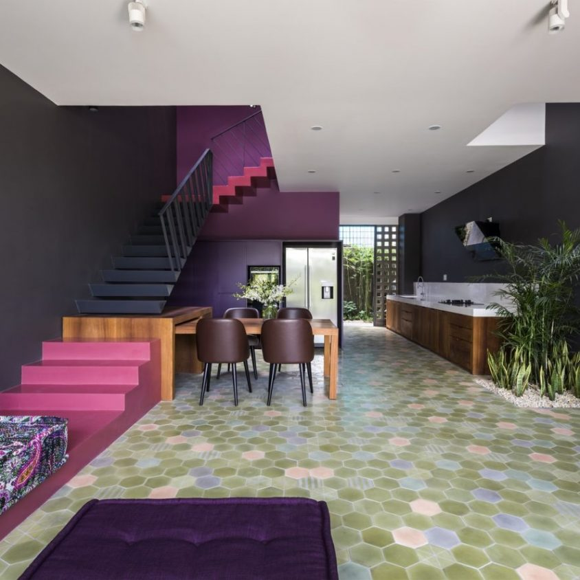 Luz y colores en Pattern House 3