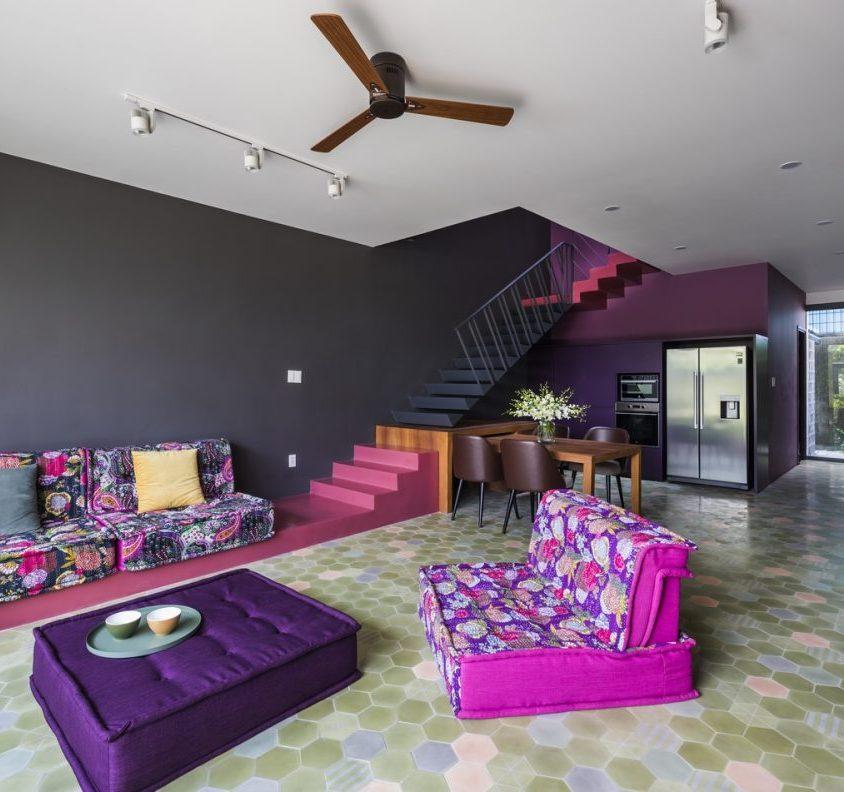 Luz y colores en Pattern House 19