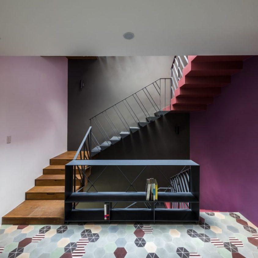 Luz y colores en Pattern House 15