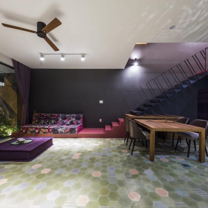 Luz y colores en Pattern House 2