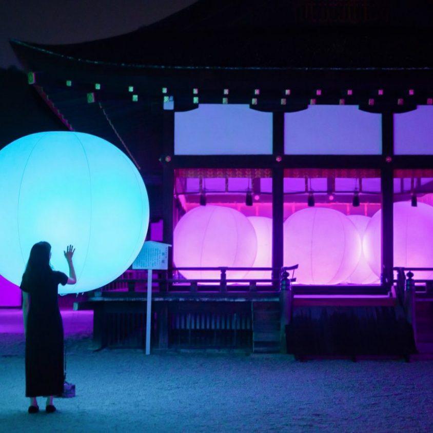 El bosque digitalizado del Santuario Shimogamo 10