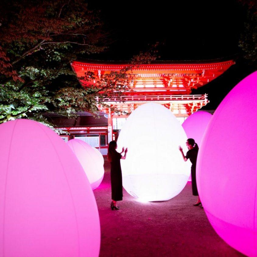 El bosque digitalizado del Santuario Shimogamo 5