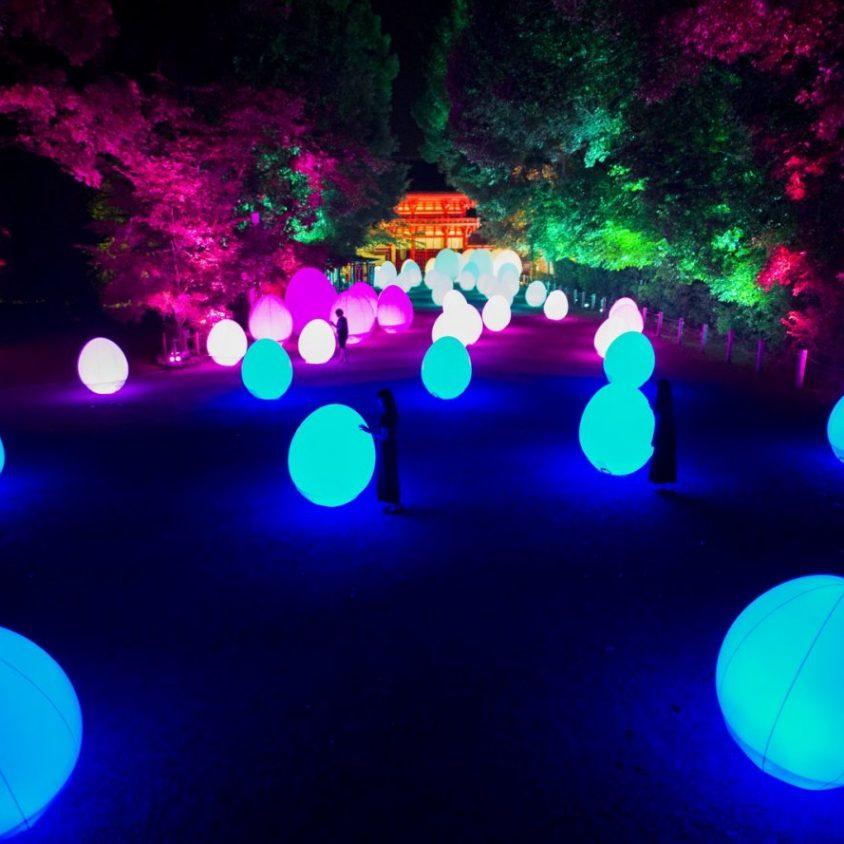 El bosque digitalizado del Santuario Shimogamo 12