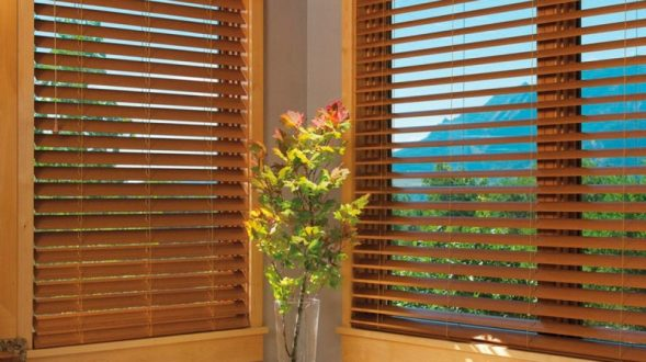 Cortinas Wood Blind 1
