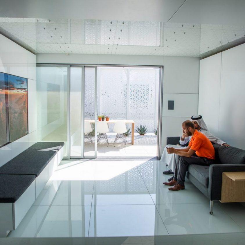La casa del futuro: inteligente, automática y solar 17