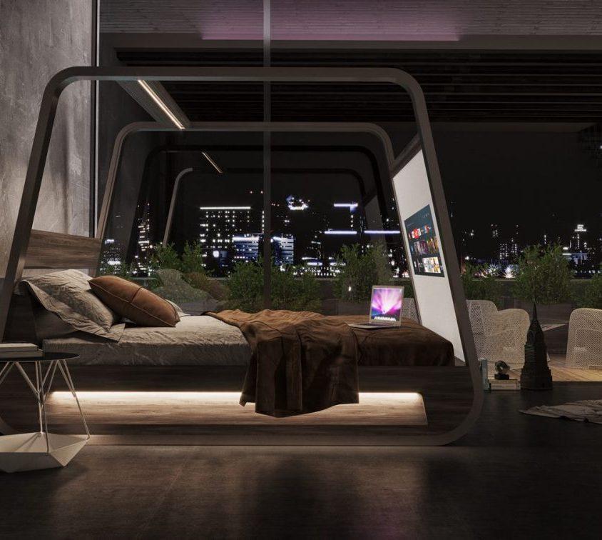 Descansar en HiBed, una cama smart 7