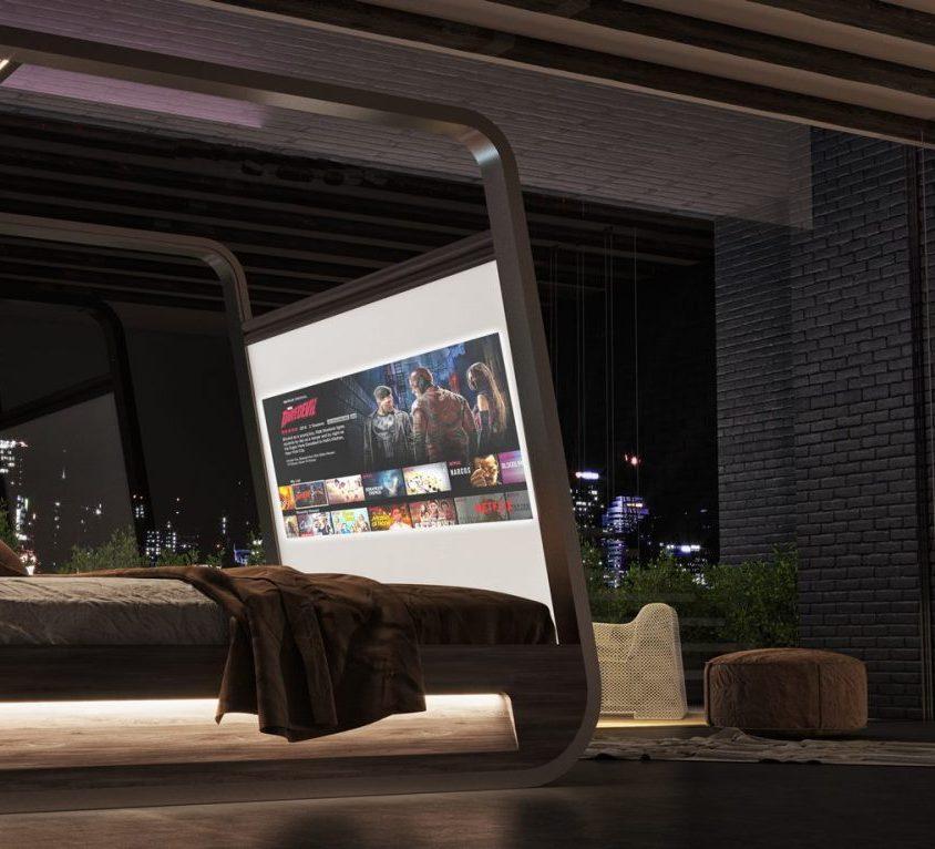 Descansar en HiBed, una cama smart 5