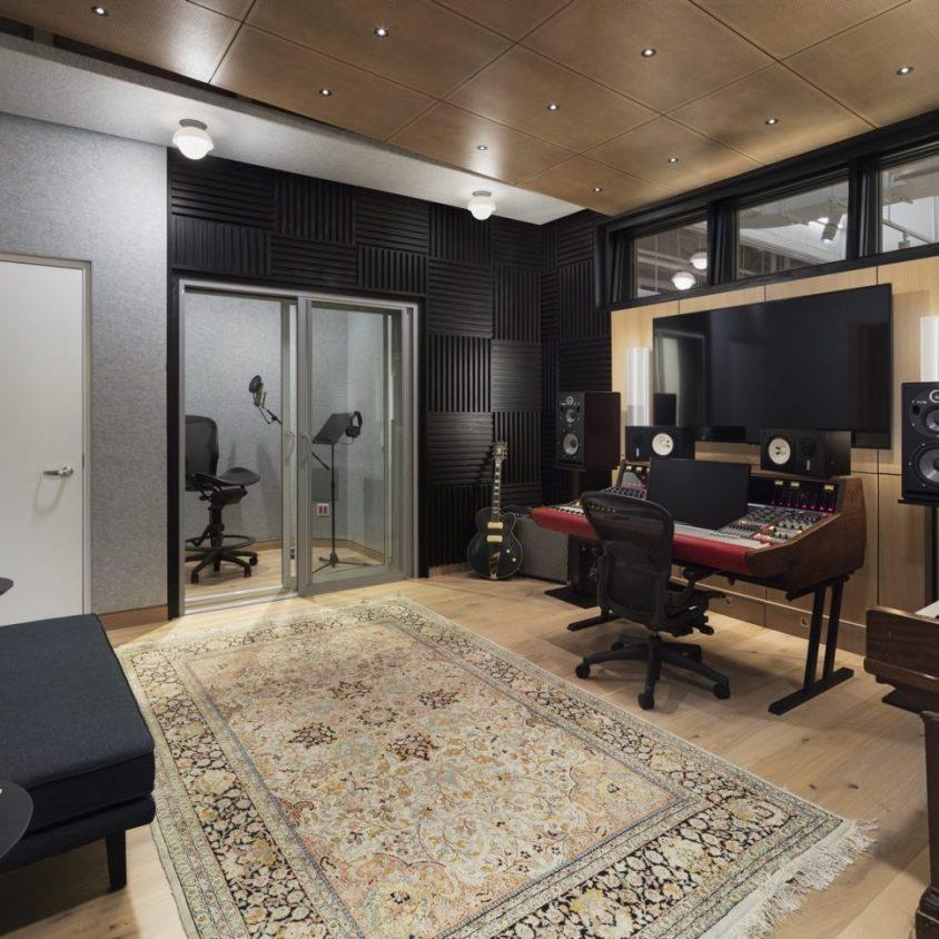 Las oficinas de Warner Music, listas para grabar 20