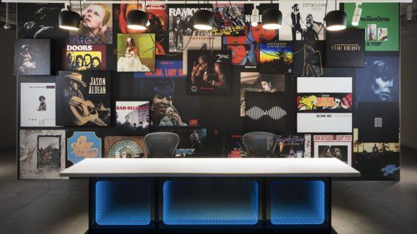 Las oficinas de Warner Music, listas para grabar 26