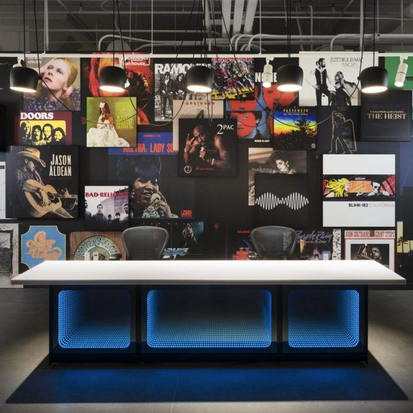 Las oficinas de Warner Music, listas para grabar 23