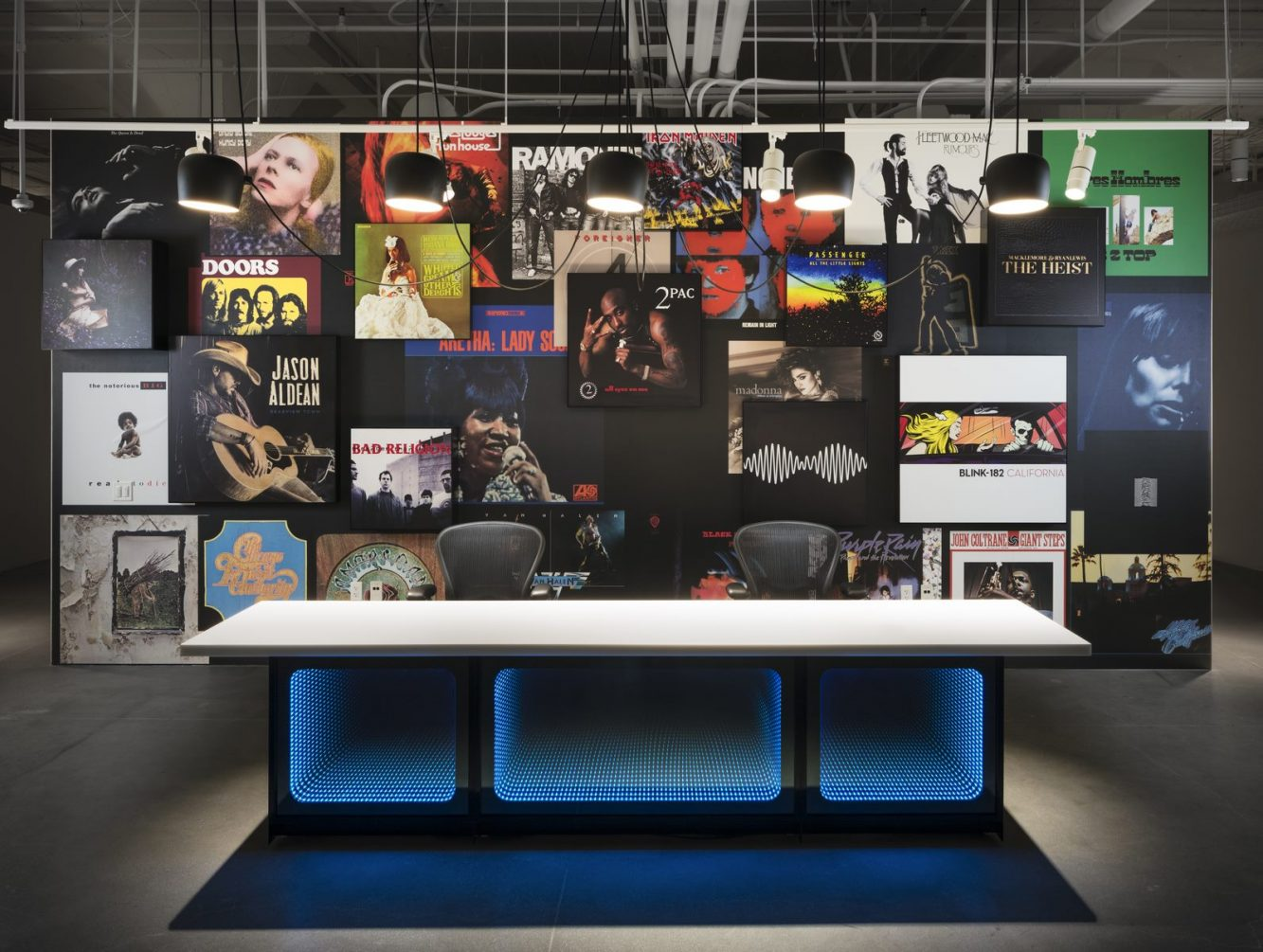 Las oficinas de Warner Music, listas para grabar 28