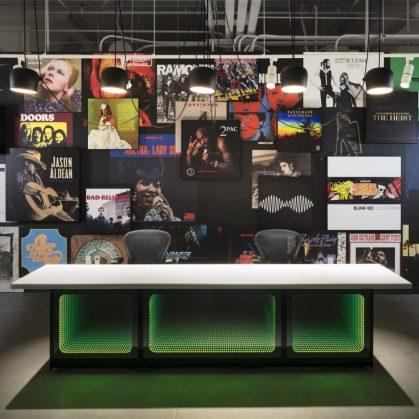 Las oficinas de Warner Music, listas para grabar 25