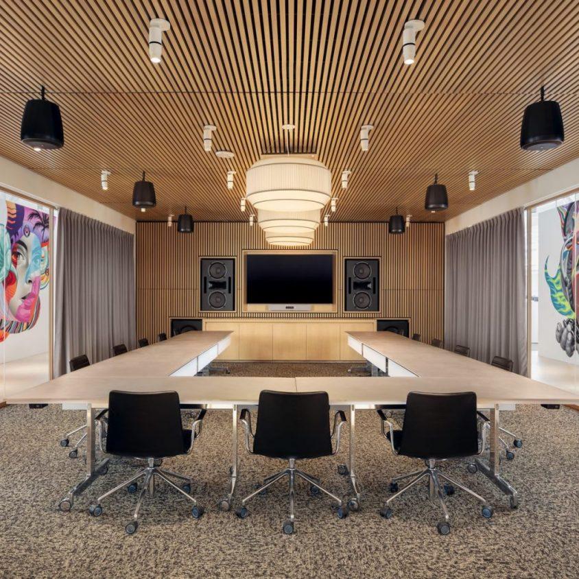 Las oficinas de Warner Music, listas para grabar 15