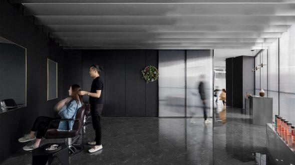 El diseño de una peluquería en un espacio reducido 24