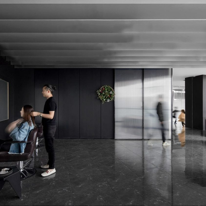 El diseño de una peluquería en un espacio reducido 3