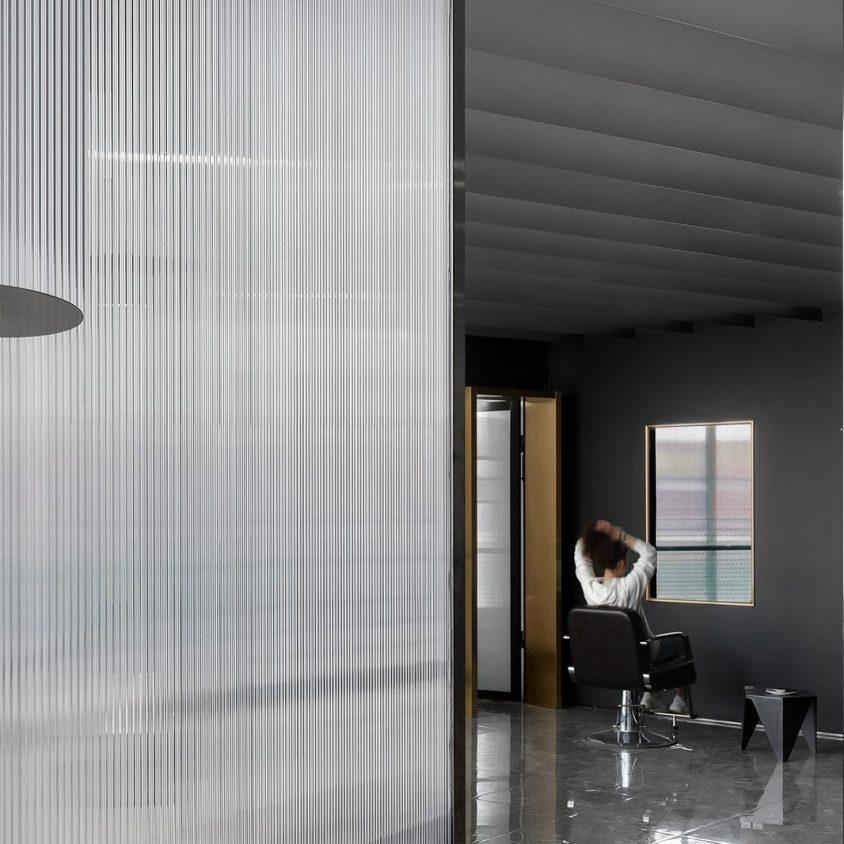 El diseño de una peluquería en un espacio reducido 9