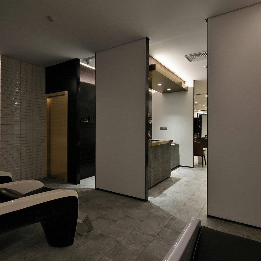 El diseño de una peluquería en un espacio reducido 12