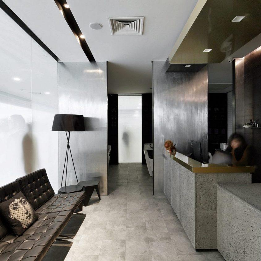 El diseño de una peluquería en un espacio reducido 15