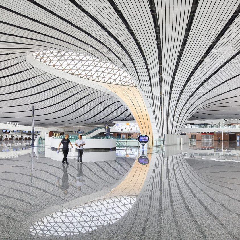El aeropuerto de Beijing Daxing es el nuevo protagonista en el mundo 7