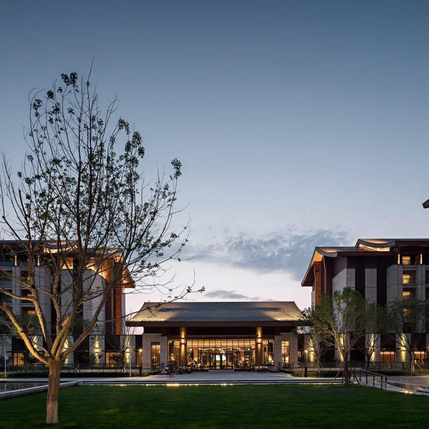 Hyatt Regency Beijing, un hotel que se fusiona con la naturaleza 1