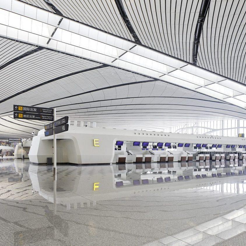 El aeropuerto de Beijing Daxing es el nuevo protagonista en el mundo 8