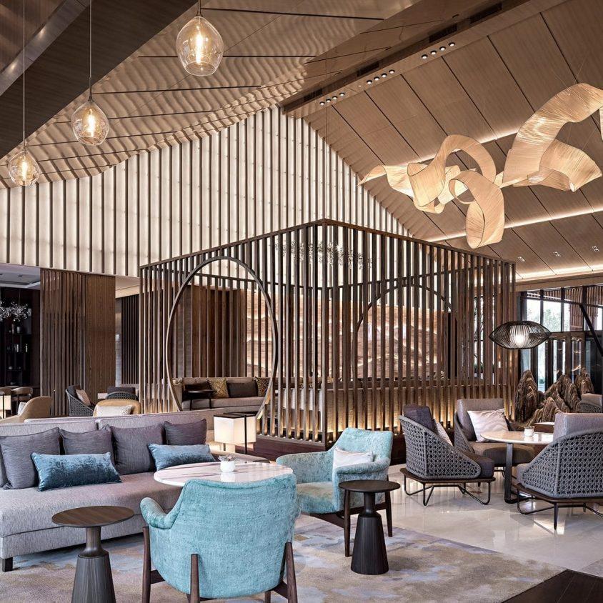 Hyatt Regency Beijing, un hotel que se fusiona con la naturaleza 8