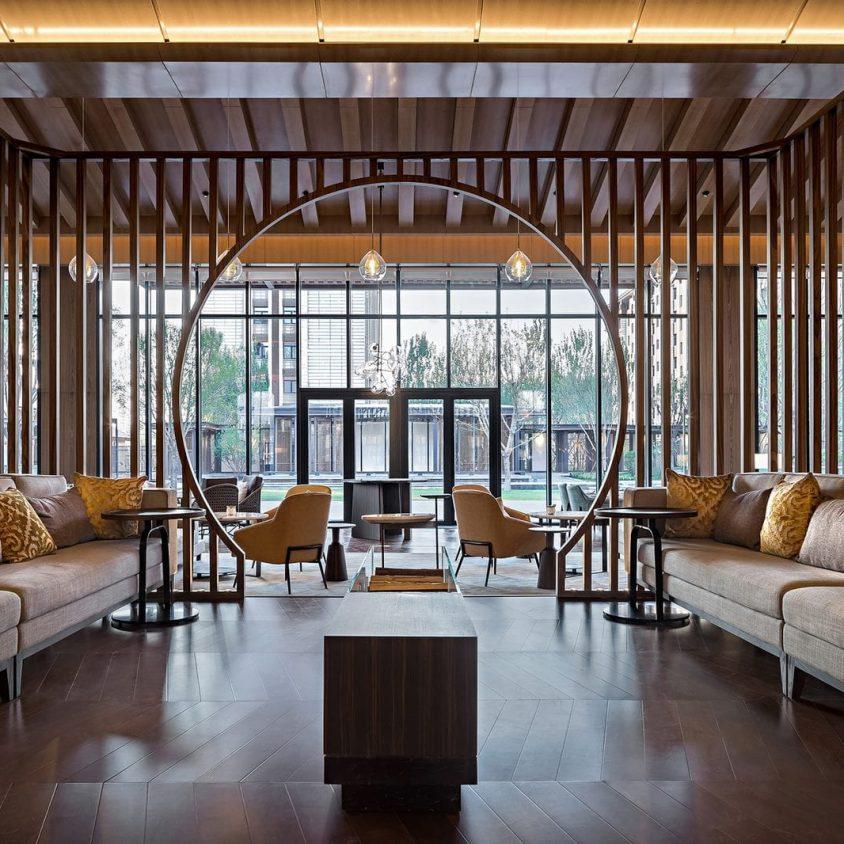 Hyatt Regency Beijing, un hotel que se fusiona con la naturaleza 9