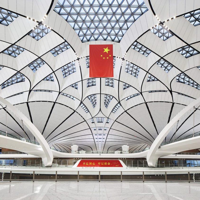 El aeropuerto de Beijing Daxing es el nuevo protagonista en el mundo 11