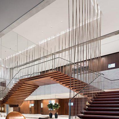 Hyatt Regency Beijing, un hotel que se fusiona con la naturaleza 11