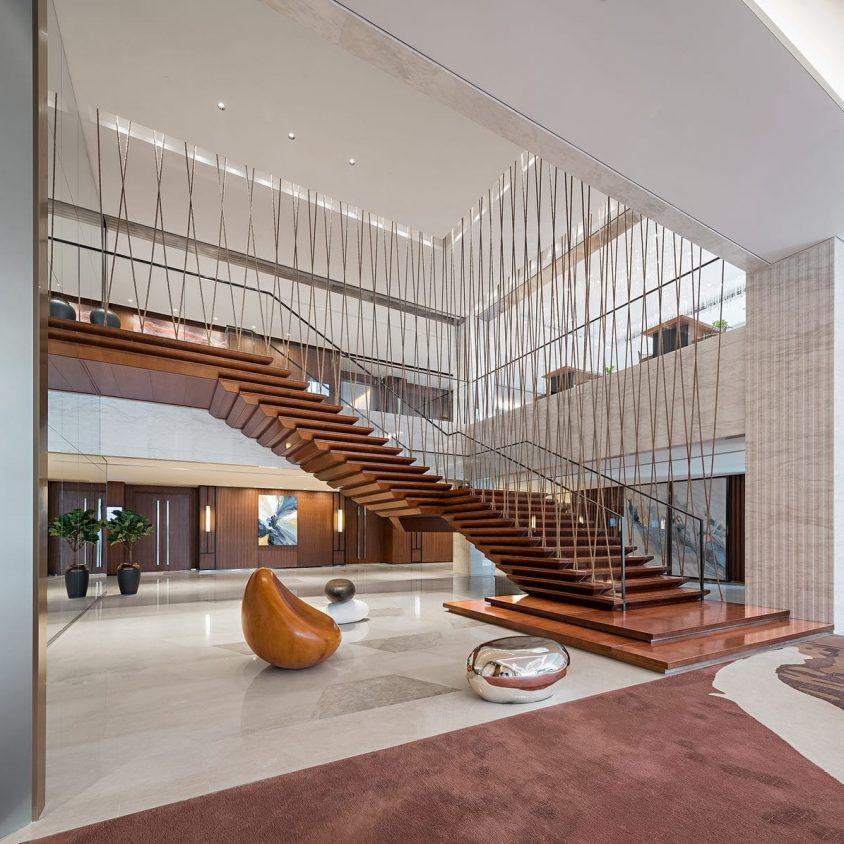 Hyatt Regency Beijing, un hotel que se fusiona con la naturaleza 10