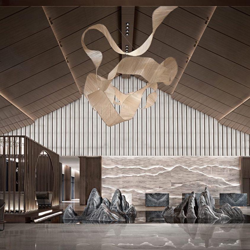 Hyatt Regency Beijing, un hotel que se fusiona con la naturaleza 6