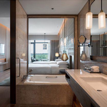 Hyatt Regency Beijing, un hotel que se fusiona con la naturaleza 27