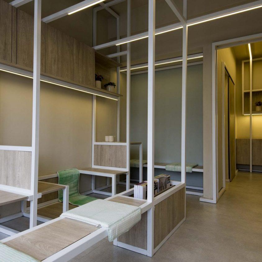 Un espacio multifunción para interiores 2