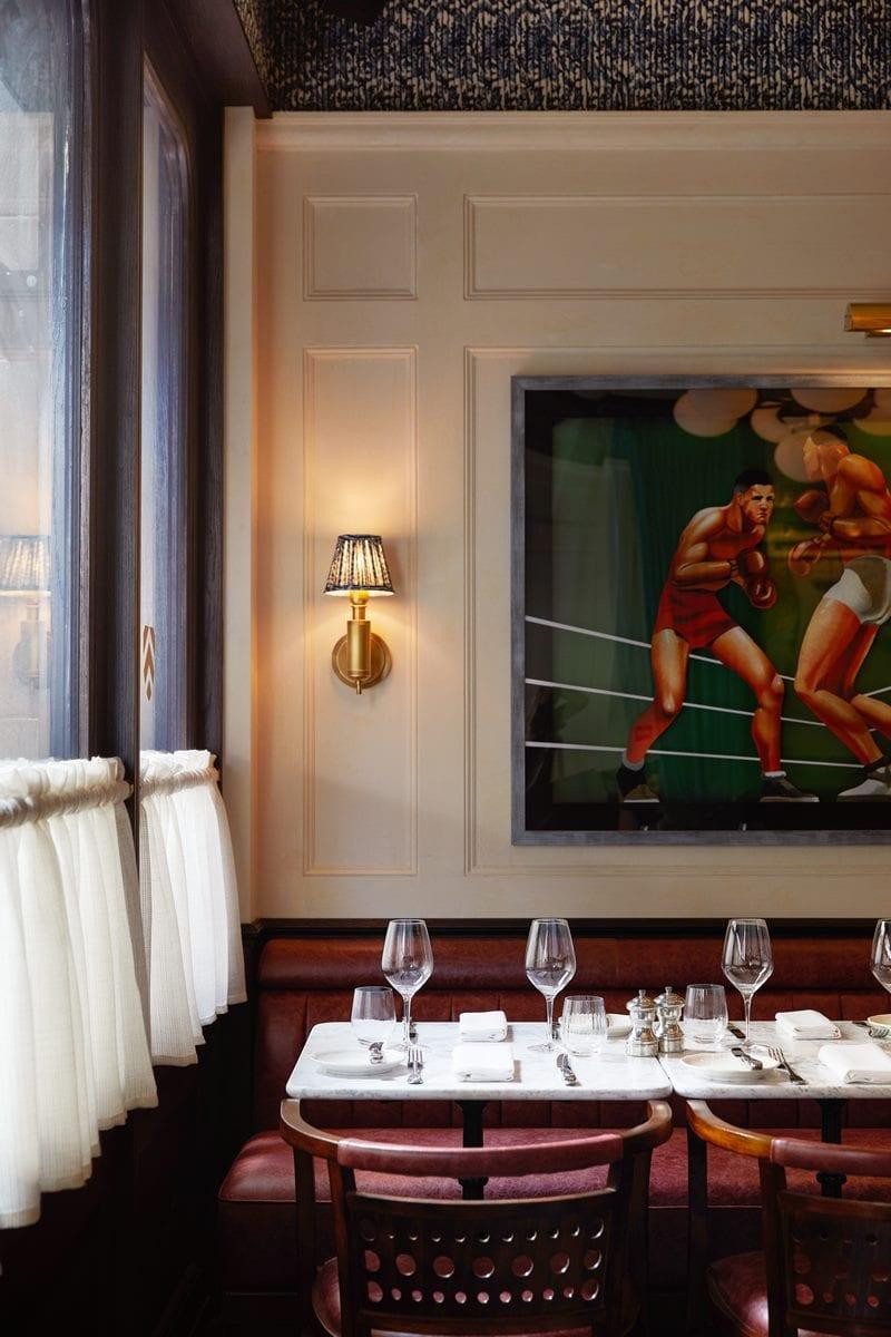 Arte y tradición en el restaurante Moncks 20