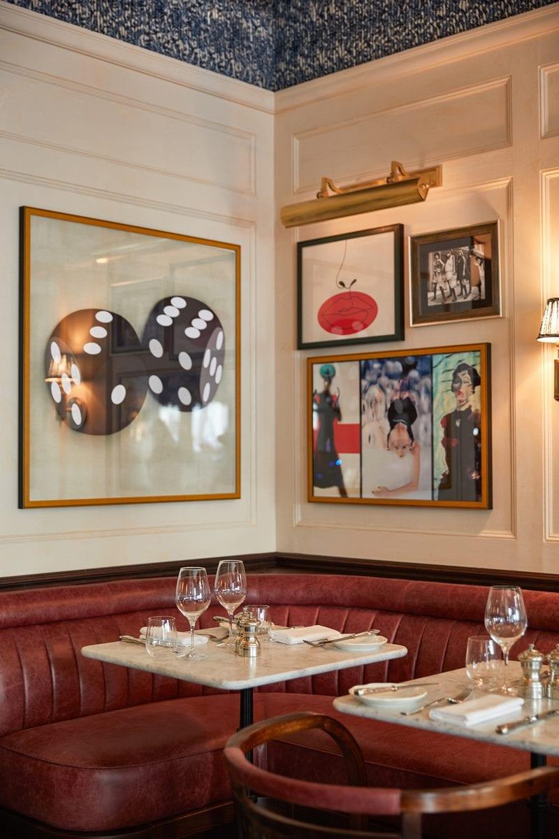 Arte y tradición en el restaurante Moncks 18