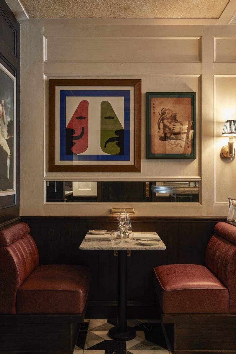 Arte y tradición en el restaurante Moncks 19