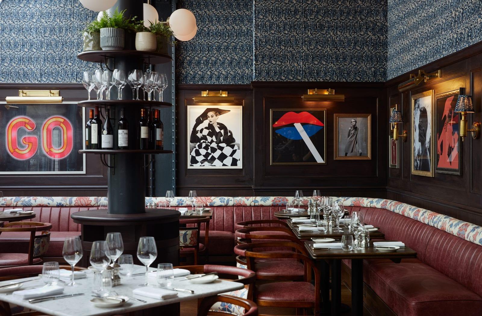 Arte y tradición en el restaurante Moncks 11