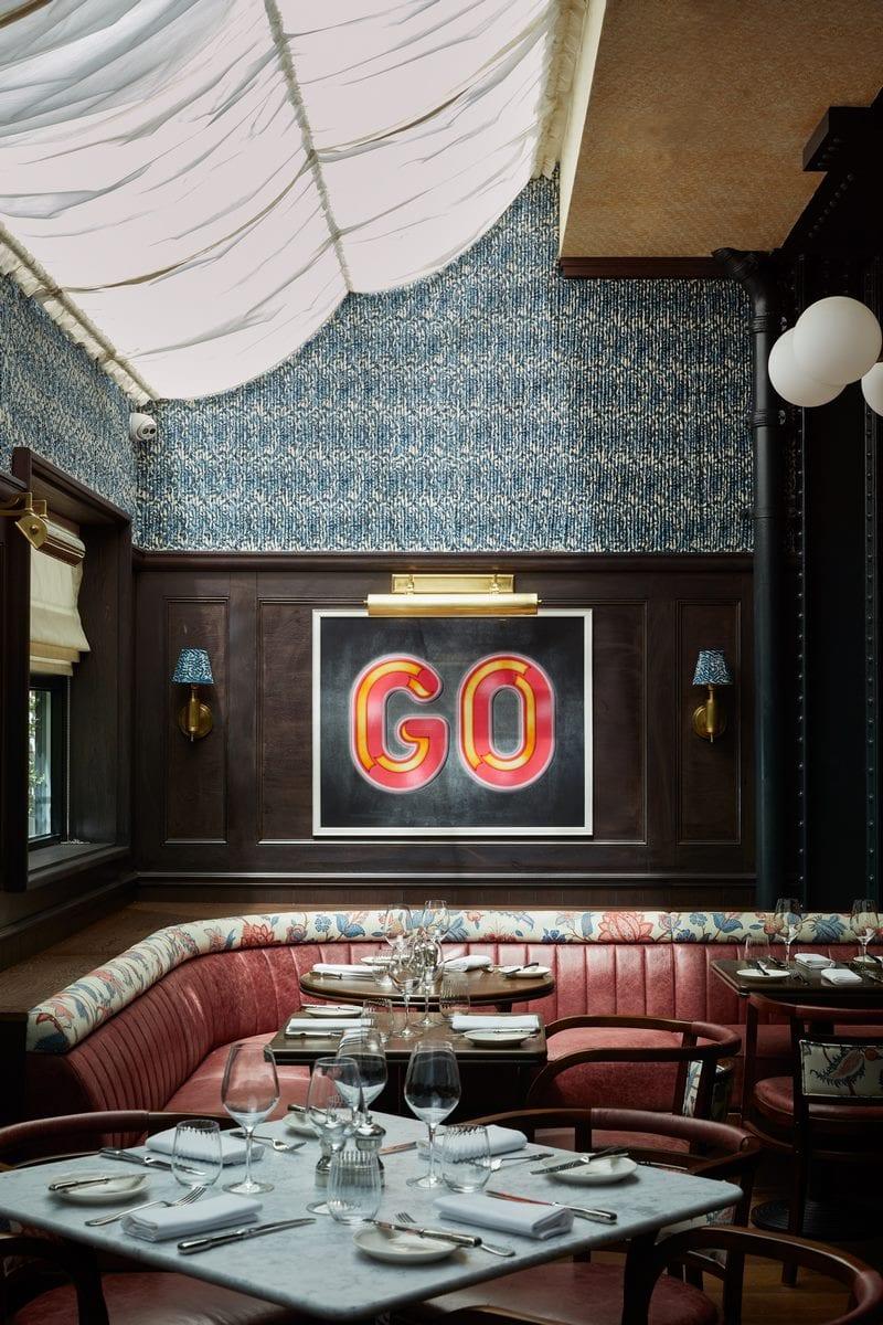 Arte y tradición en el restaurante Moncks 3