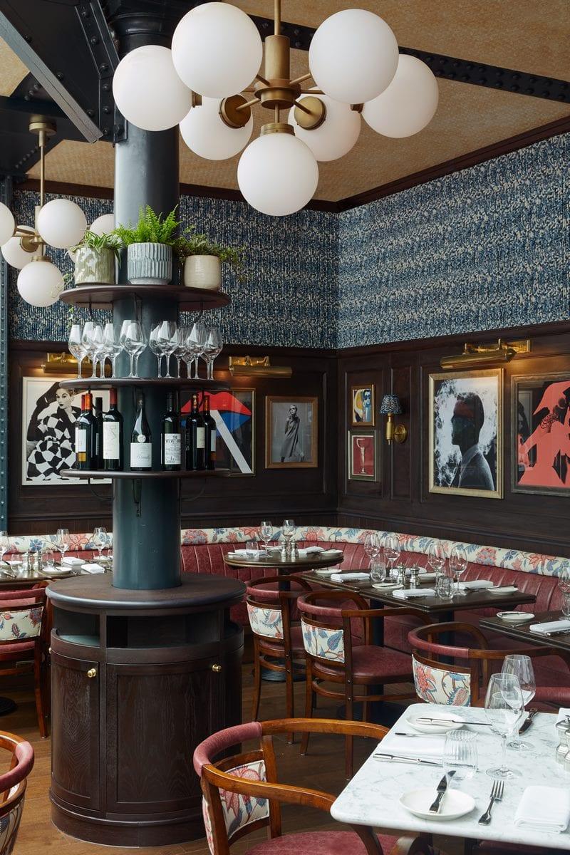 Arte y tradición en el restaurante Moncks 13