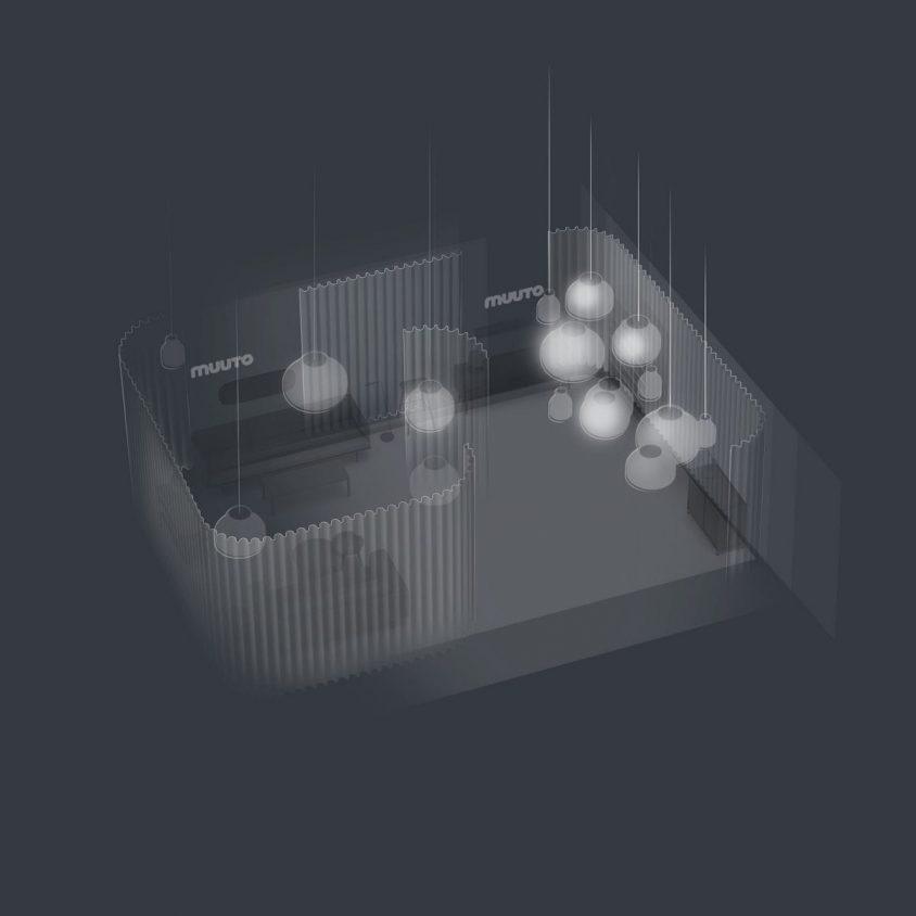 La simpleza de las lámparas colgantes de Layer x Muuto 12