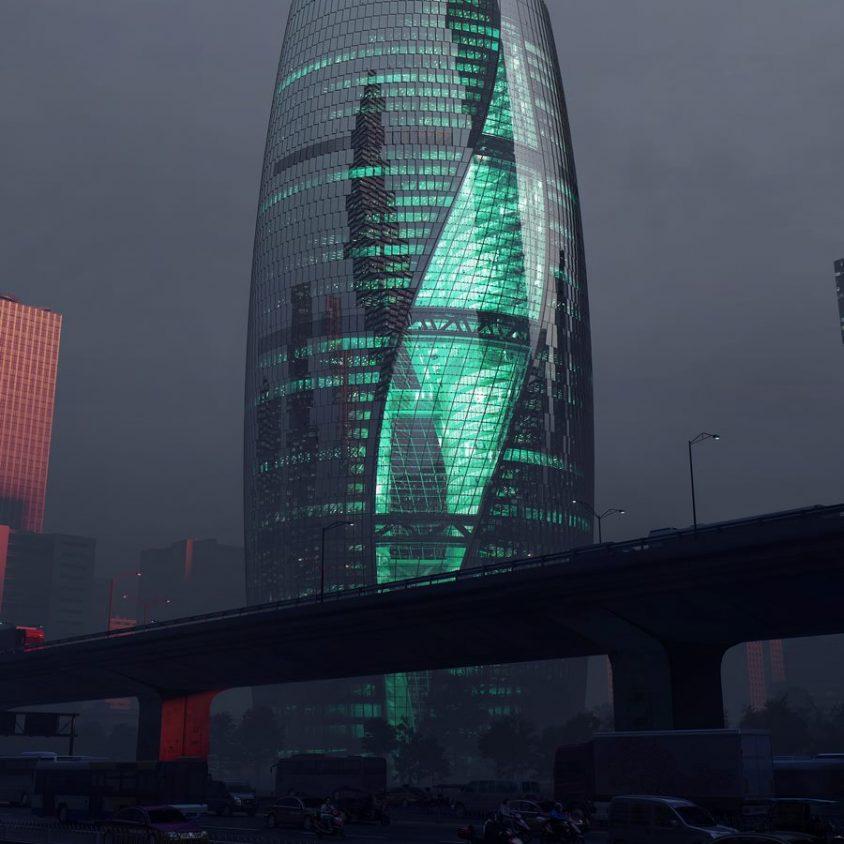 La torre con el atrio más alto del mundo 15