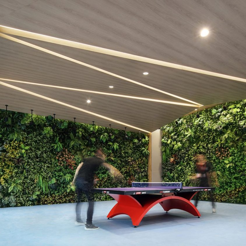 Oficinas con forma de nido que producen tecnología 19