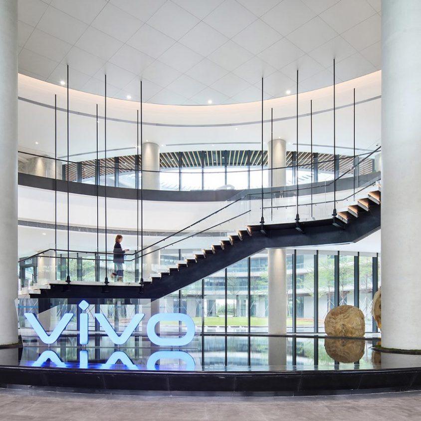 Oficinas con forma de nido que producen tecnología 2