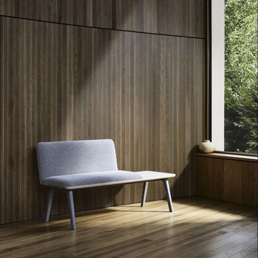 Muebles con diseño sostenible en Benchmark 6