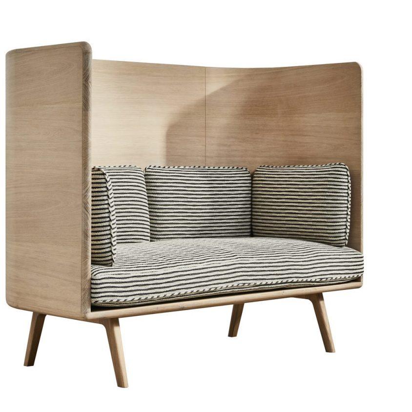 Muebles con diseño sostenible en Benchmark 5