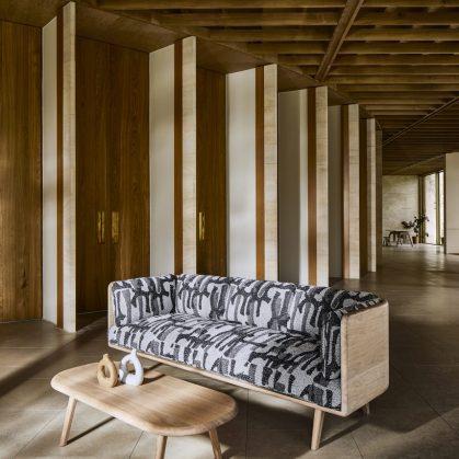 Muebles con diseño sostenible en Benchmark 9