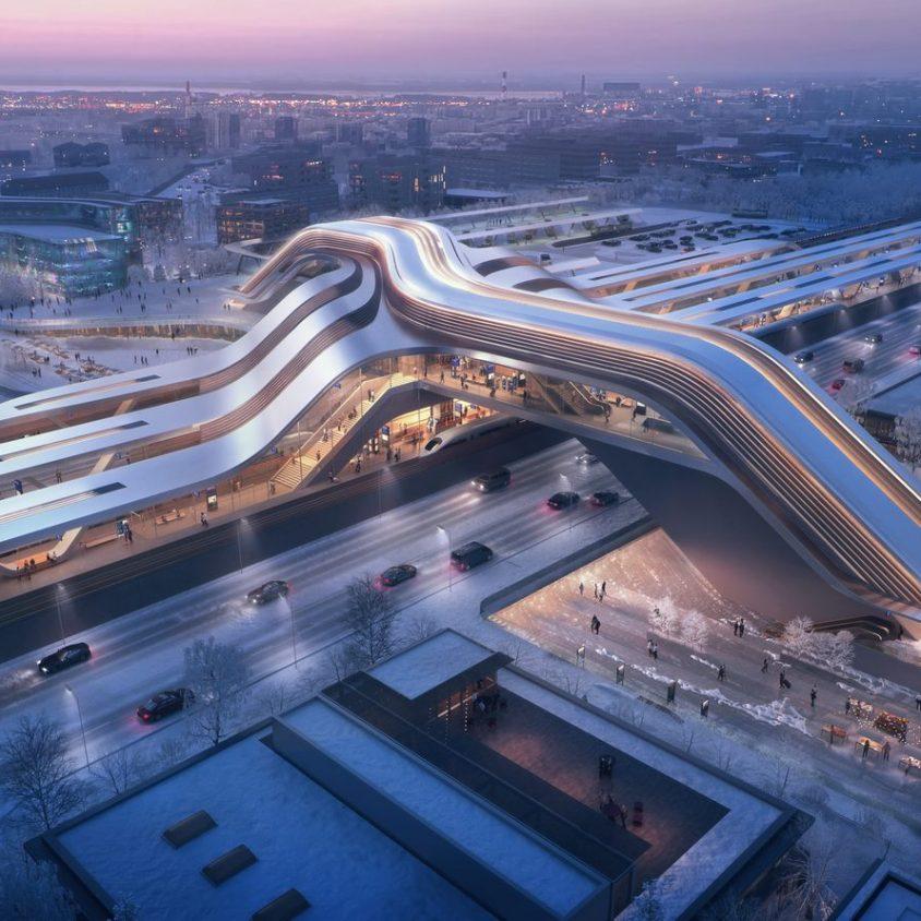 La nueva terminal de trenes de alta velocidad en Europa 1